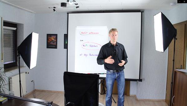 Online Seminar Kulisse